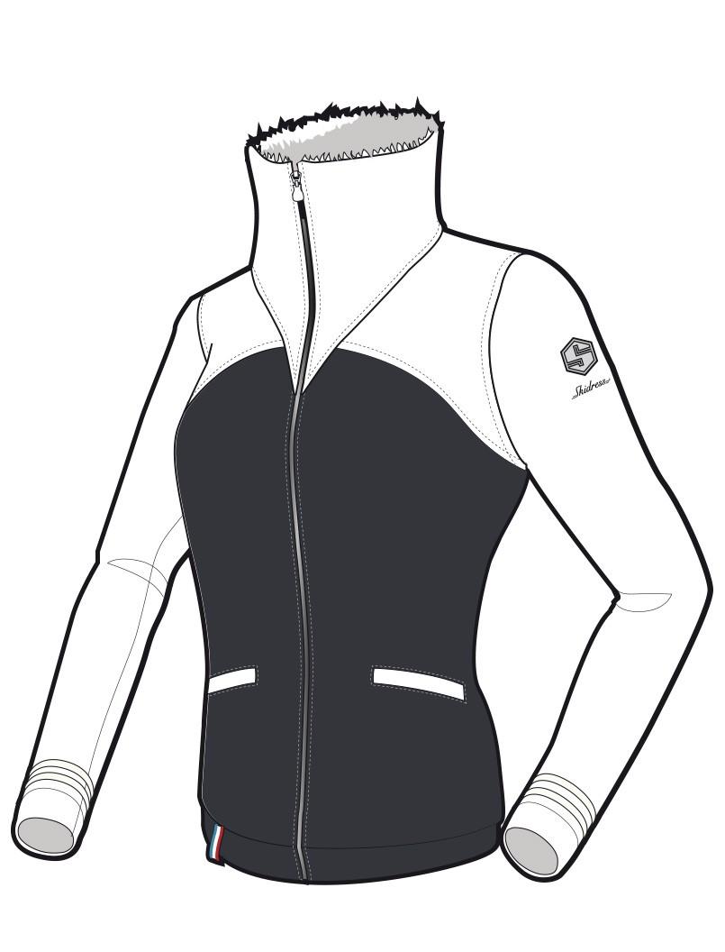 trente -huit lady marine-blanc