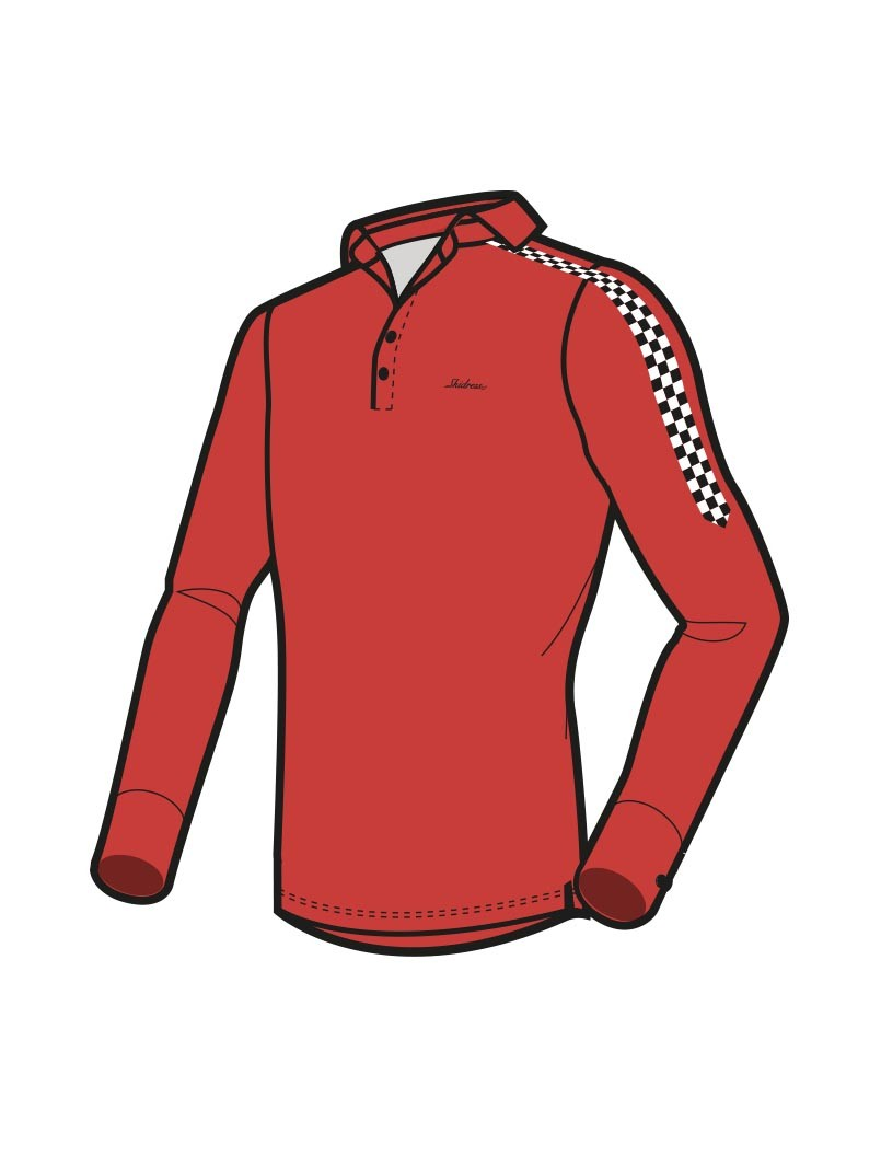 Le Polo Racer rouge